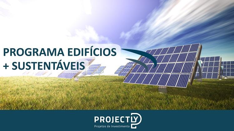 Programa Edifícios + Sustentáveis - Apoio 2021